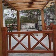 广东清远水泥仿木栏杆 现货批发款式齐全